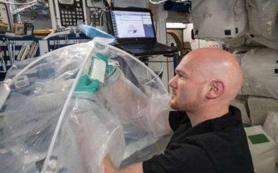 Космонавты впервые изготовили бетон в космосе