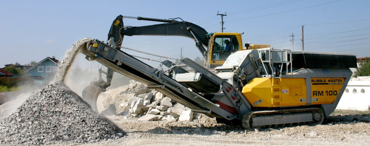 Проект по стопроцентной переработке бетона стартовал в Архангельске