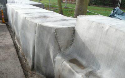 Инновационная строительная технология: бетон в рулонах