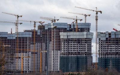 В Москве в 2019 году ввели рекордный объем недвижимости