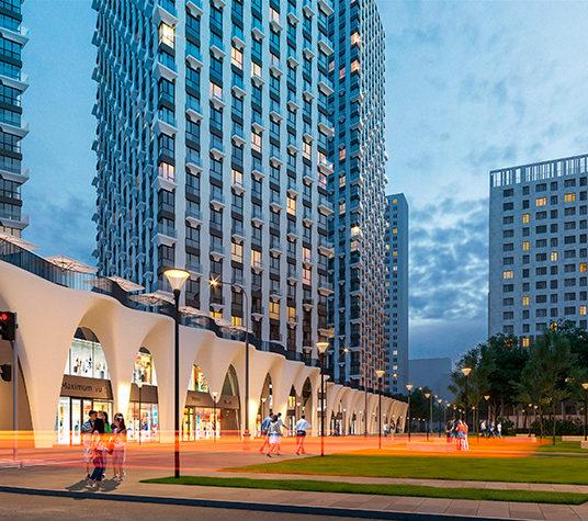 Стилобат московского небоскреба построят в стиле архитектурной бионики