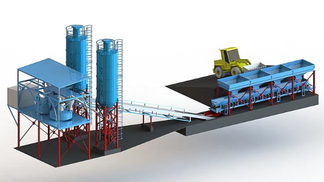 Реконструкция как необходимость. Автоматизация технологического процесса производства бетонных смесей
