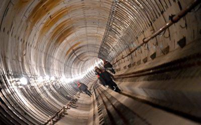 Мосгосстройнадзор: качество работ проверили на строительстве станции БКЛ «Воронцовская»