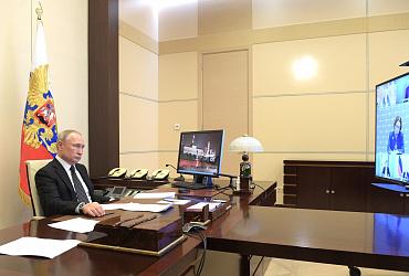 Владимир Якушев рассказал о мерах поддержки строительной отрасли на совещании с Президентом России