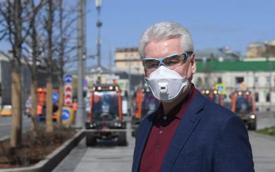 Собянин считает возможным возобновить строительство в Москве с 12 мая