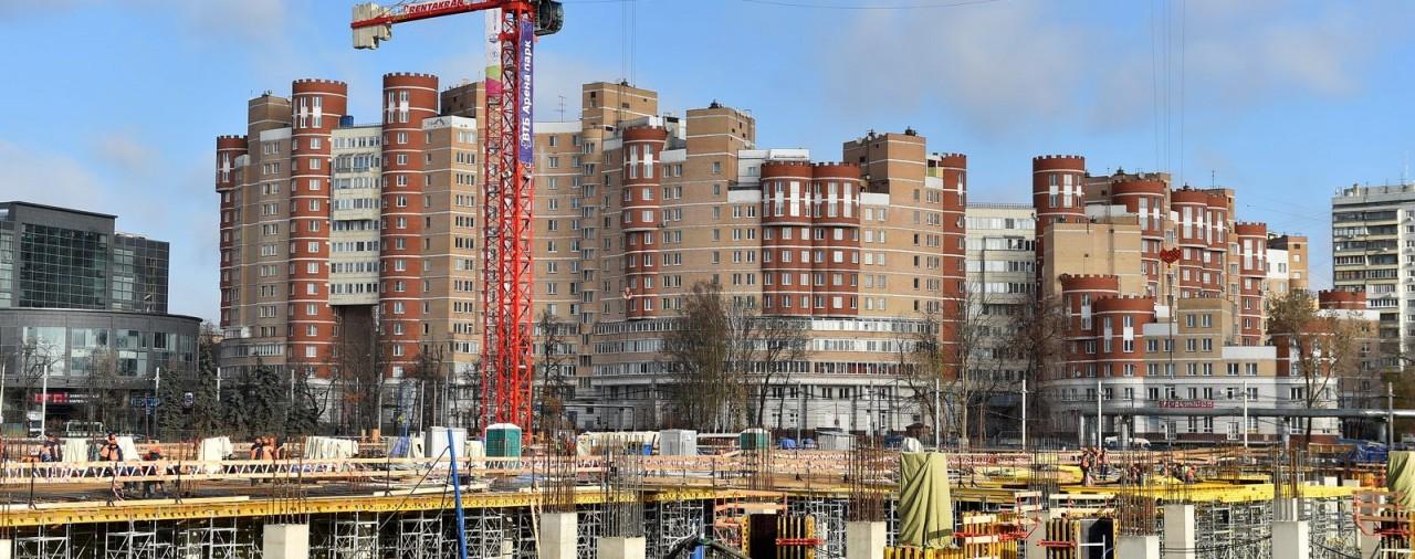 В Москве с начала года построили более 4,3 млн кв. м недвижимости