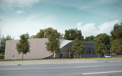 Карбонхаус - первое в мире здание из железобетона c использованием углеродного волокна