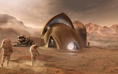 Строительство будущего: дом на Марсе из местных материалов – уже не фантастика, хотя еще и не реальность
