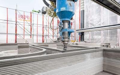 3D-печать  бетона готова к выходу на рынок