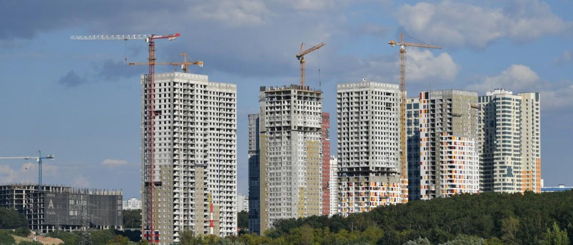Запуск новых жилых проектов в России вырос почти на 40%