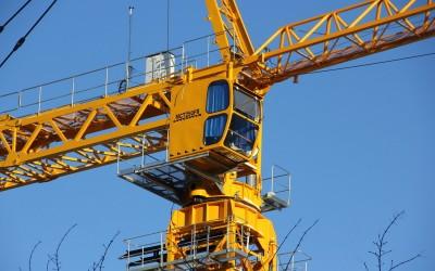 Техника и материалы: за год объем производства башенных кранов увеличился в России почти вдвое