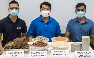 В Сингапуре используют отходы глины для производства бетона