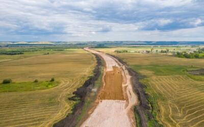 Для строительства М12 организовали 27 стройгородков и 269 км временных дорог